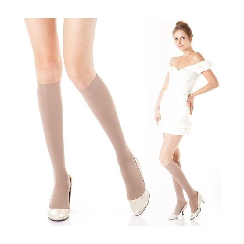 Medicininės kojinės iki kelių 2 kompresinės klasės