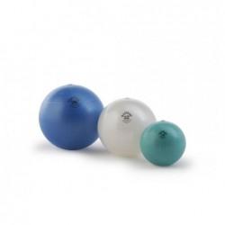 Ovalus kamuolys. Blizgaus paviršiaus 55x80cm. Oranžinis