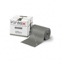 Juosta mankštai Kintex, be latekso, geltona, 1,8m.