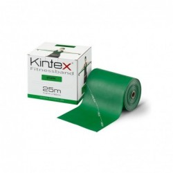 Juosta mankštai Kintex, be latekso, juoda, 1,8m.