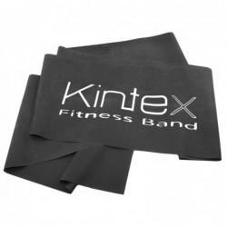 Juosta mankštai Kintex, be latekso, geltona, reikiamo ilgio.