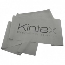 Juosta mankštai Kintex, be latekso, raudona, reikiamo ilgio.