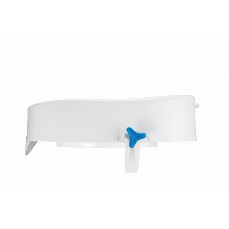 Metalinė reguliuojamo aukščio lazdelė  neslystančia rankena. Aliuminio spalvos