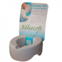 Paminkštintas tualeto paaukštinimas su dangčiu 115 mm.  (Pharmaouest)