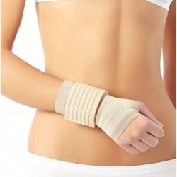 Sutvirtintas riešo įtvaras su papildomu įtvirtinimu (Eco elastic)