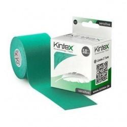 Kineziologinis teipas jautriai odai Kintex Sensitive 5cm x 5m. Žalios spalvos.