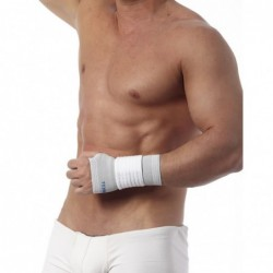 Elastinis riešo įtvaras (Teyder 285 Silver).