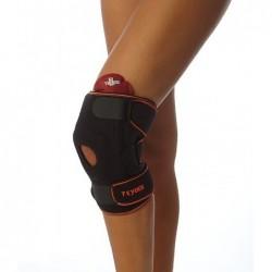 Elastinis kelio įtvaras sportininkams su šildančiu - šaldančiu gelio kompresu (Teyder 483 Sport).