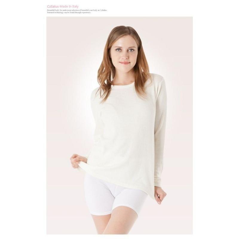 Angoriniai šildantys marškinėliai ilgom rankovėm
