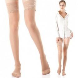 Kompresinės kojinės iki kirkšnies su silikonine juosta. 140 den 18-21 mmHg.